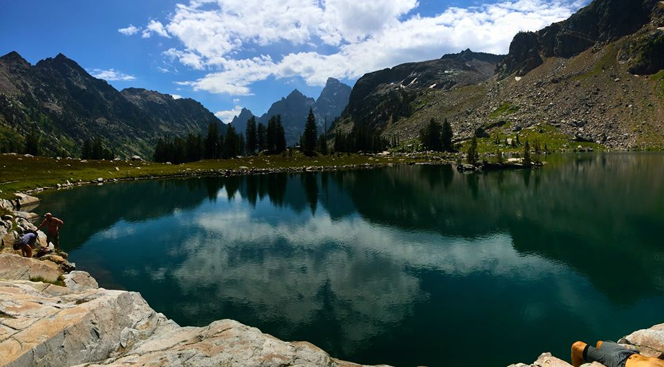 ,Lake Solitude in Grand Teton National Park - Leigh Scarber
