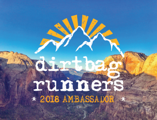 2018 Dirtbag Runners Ambassadors and Core Team!